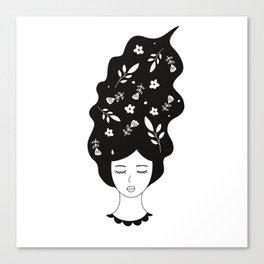 Botanic Women Canvas Print