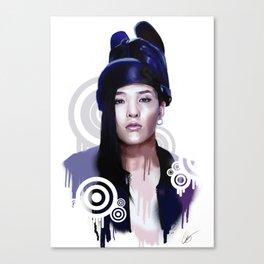 G-Dragon - Fantastic Baby Canvas Print
