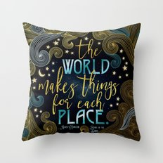 Rebel Of The Sands - For Each Place Throw Pillow