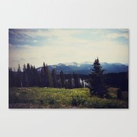ashton irwin Canvas Prints featuring Lake Irwin by Teal Thomsen Photography
