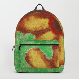 Granny Smith  Abstract Flower Backpack