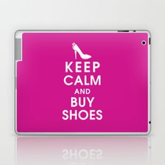 Keep Calm and Buy Shoes Laptop & iPad Skin
