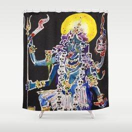 Goddess Kali Shower Curtain