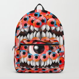 Eyeball Monster Backpack
