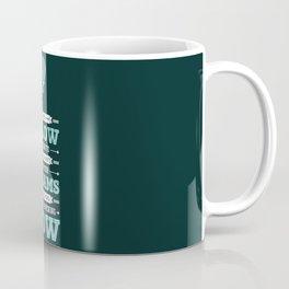 Lab No. 4 Live Your Dreams Life Inspirational Quote Coffee Mug