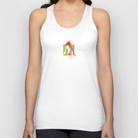 records Tank Tops featuring Mondongo Records by qteln