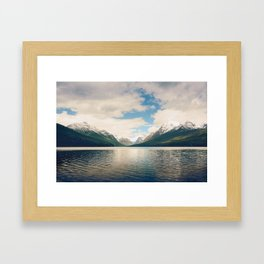 Bowman Lake Framed Art Print