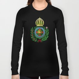 Dom Pedro II Coat of Arms Long Sleeve T-shirt