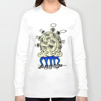 mouth Long Sleeve T-shirts featuring mouth -mouth by watsonpablov