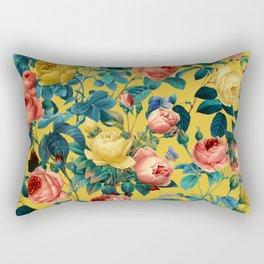 Summer Botanical Garden X Rectangular Pillow