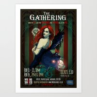 The Gathering Show Poster Art Print