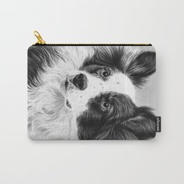 Dog Portrait 02 Carry-All Pouch