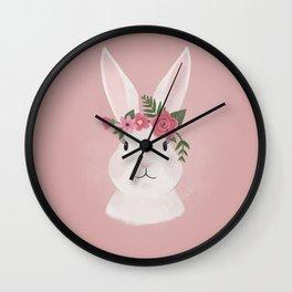 Princess Rabbit Wall Clock