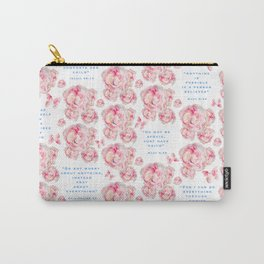 Wrap yourself in the promises of God Carry-All Pouch