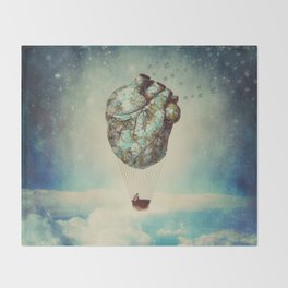 The Unforgettable Love Journey 2 Throw Blanket