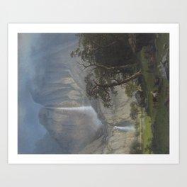 Albert Bierstadt - Cho-looke, the Yosemite Fall (1864) Art Print