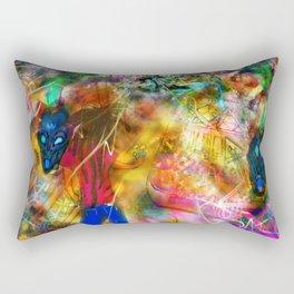Interdimensional Exploration Rectangular Pillow