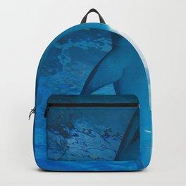 Shark Underwater (Color) Backpack