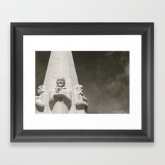 The Astronomers Monument Framed Art Print