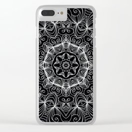 Drawing Floral Doodle G10 Clear iPhone Case