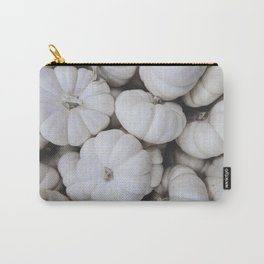 White Mini Pumpkins Carry-All Pouch