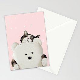 Cat Hug Me! Stationery Cards