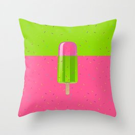 Ice Stick Party Throw Pillow
