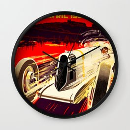 Monaco Grand Prix 1930 Wall Clock
