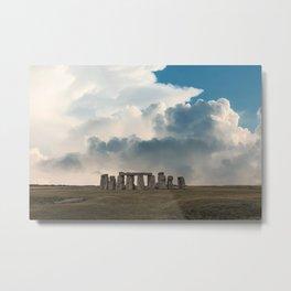 Stonehenge III Metal Print