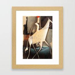don quixote... Framed Art Print