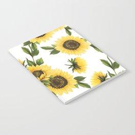 Lovely Sunflower Notebook