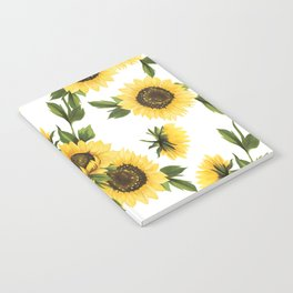 Lovely Sunflower Notebook