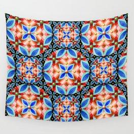 Nouveau Tartan Wall Tapestry