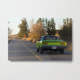 American Muscle on the Road Metal Print