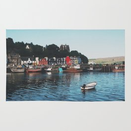 The Port Of Tobermory Rug
