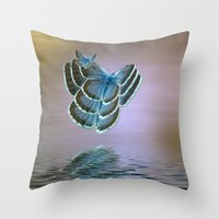 bug Throw Pillows featuring Bug by Shalisa Photography
