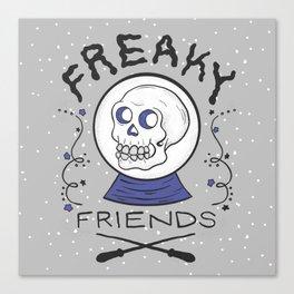 Freaky Friends Print Canvas Print