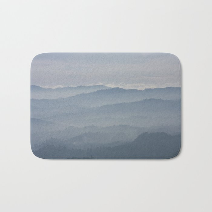 Blue Morning Bath Mat
