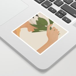 One with Nature Sticker