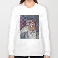 viking Long Sleeve T-shirts featuring Viking by Shana Conroy aka Wisccheeto