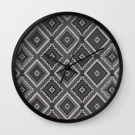 Indi-abstract#01 Wall Clock