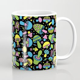 Shroomin Blacklight Coffee Mug
