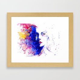 Brianna XXV Framed Art Print