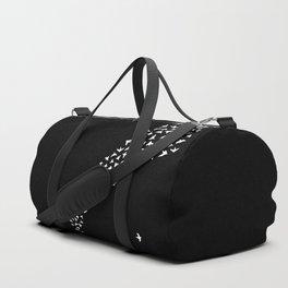 Flock of Birds // white Duffle Bag