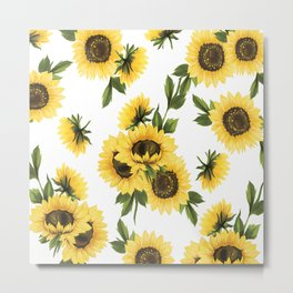 Lovely Sunflower Metal Print