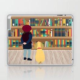Take a book to kennel Laptop & iPad Skin