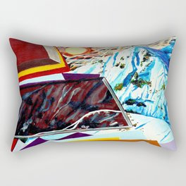 Dolomites Rectangular Pillow