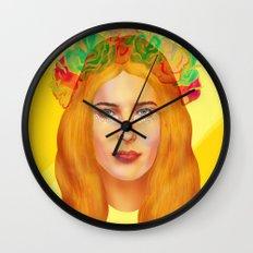 Dree Hemingway Wall Clock