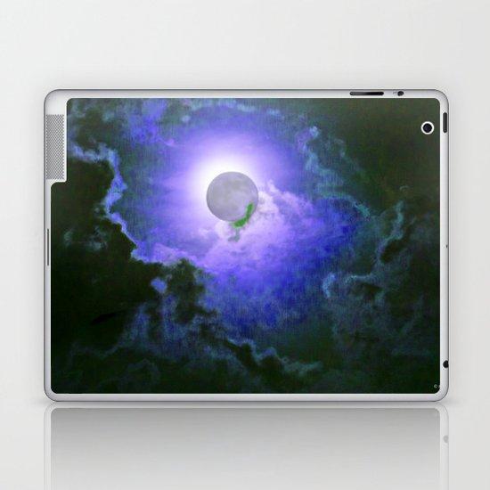 Summer Full Moon Laptop & iPad Skin