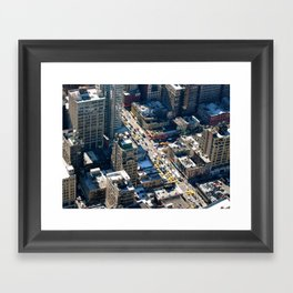 New York Life Framed Art Print